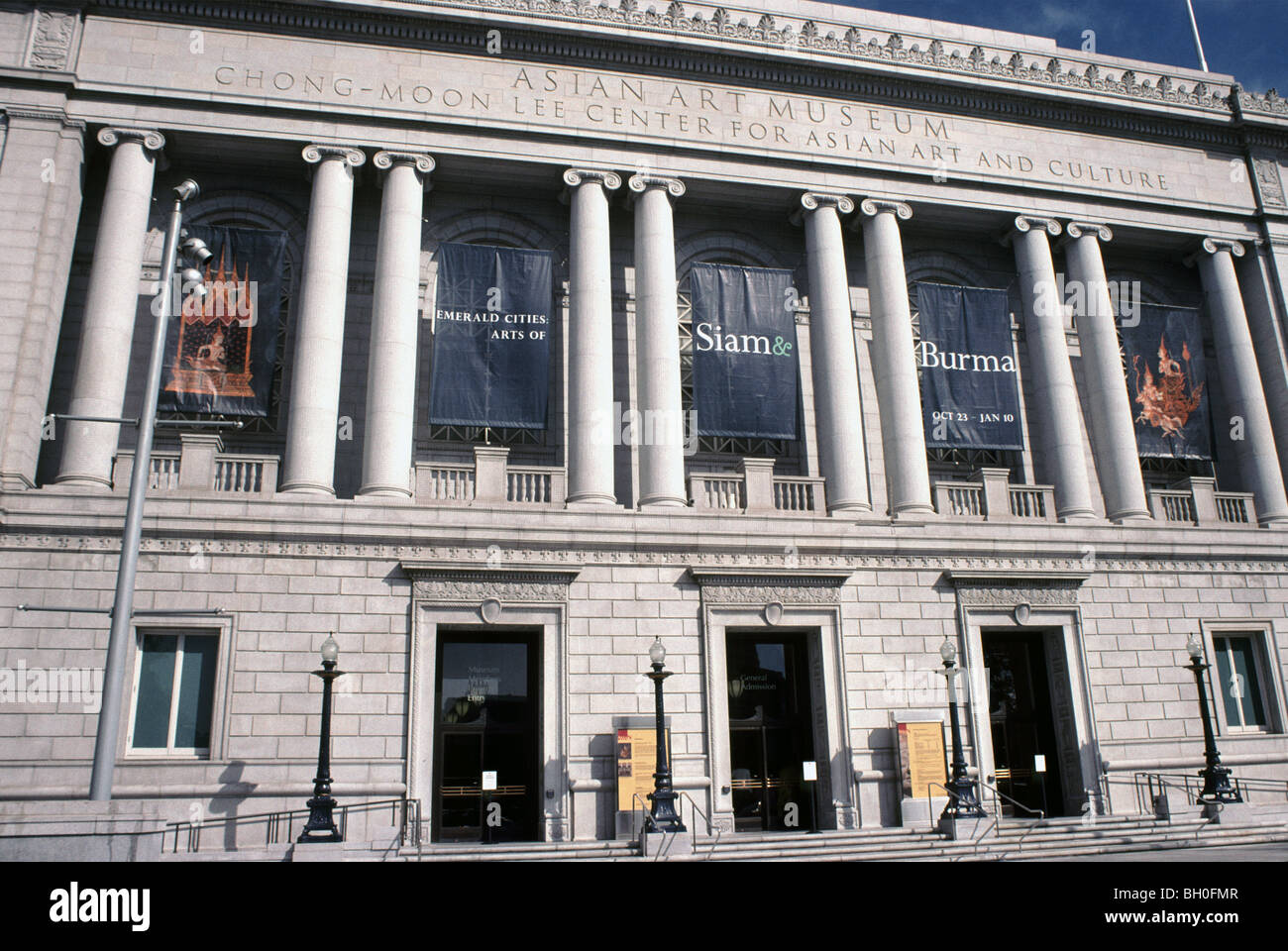 Asian Art Museum, Chong-Moon Lee center for Asian Art and Culture, San Francisco, California, USA Stock Photo