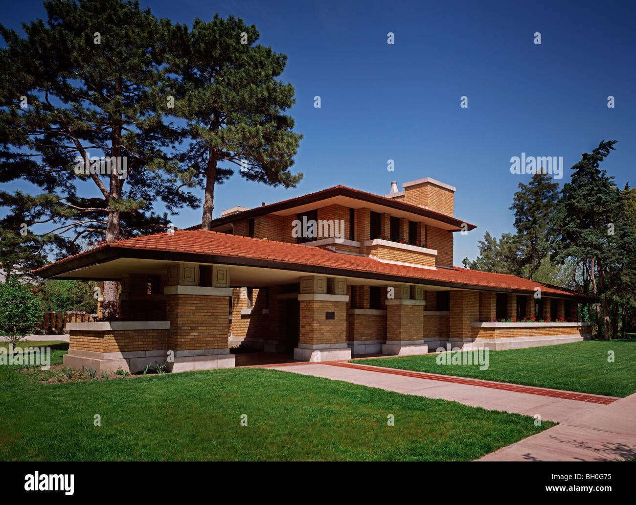 Frank Lloyd Wright Home Wichita Ks Homemade Ftempo