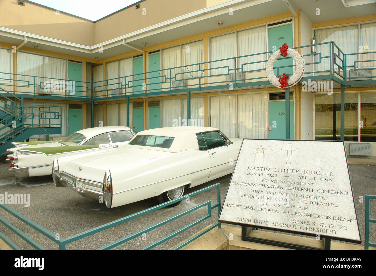 Memphis Tn Tennessee Lorraine Motel The National Civil Rights