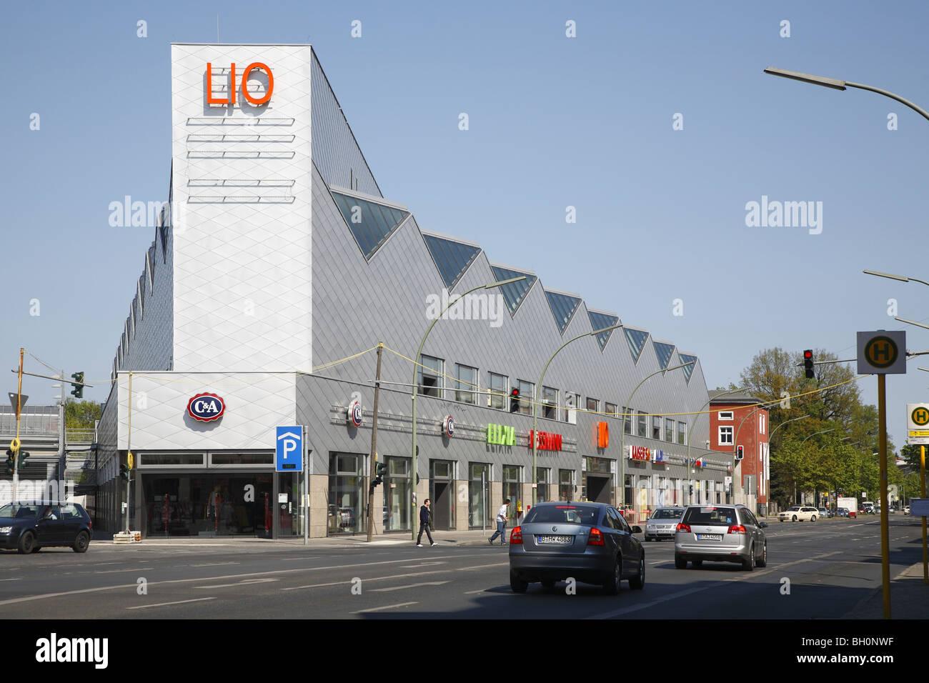 Berlin Lichterfelde Ost LIO Shopping Center - Stock Image