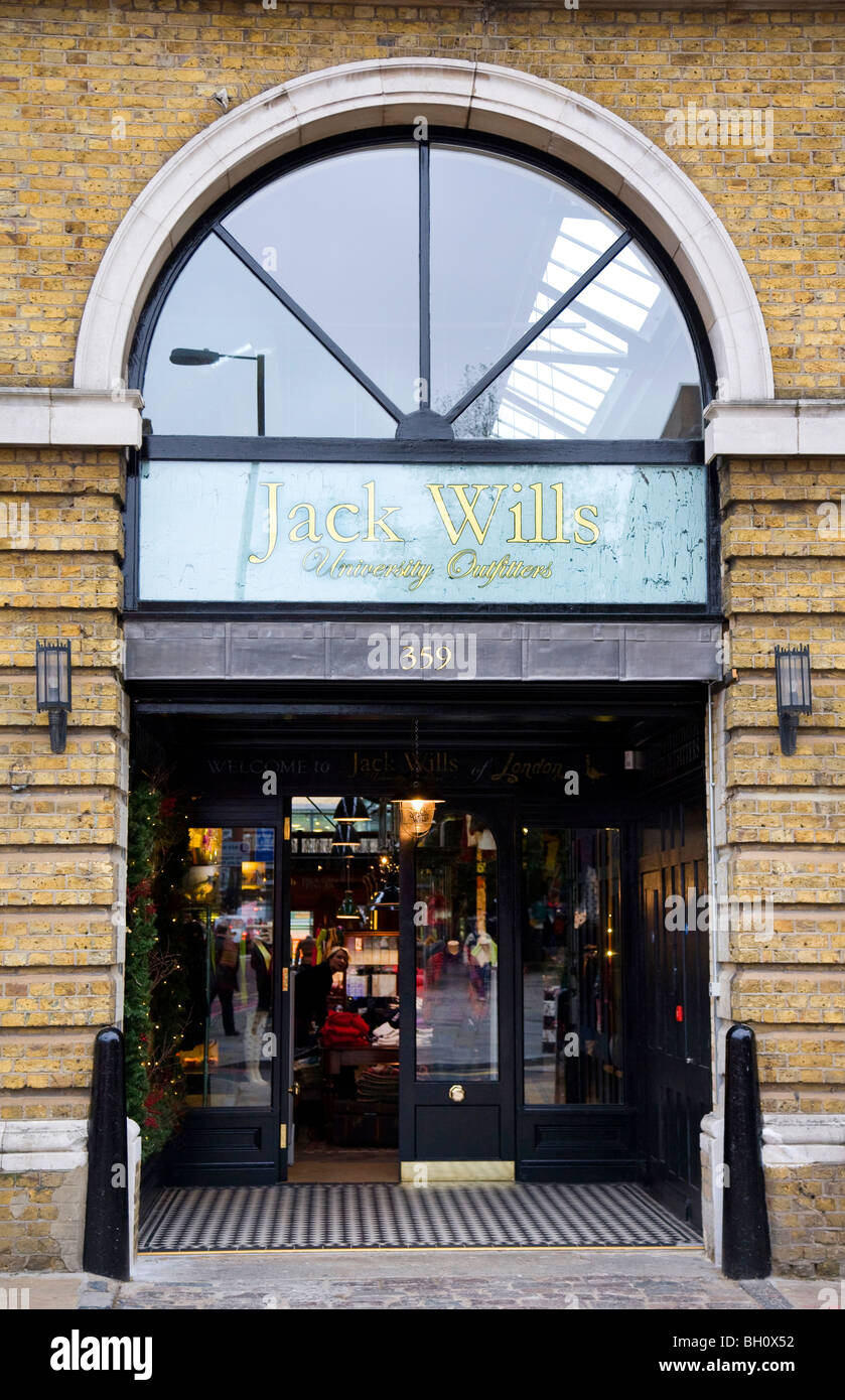 Jack Wills fashion store, London - Stock Image