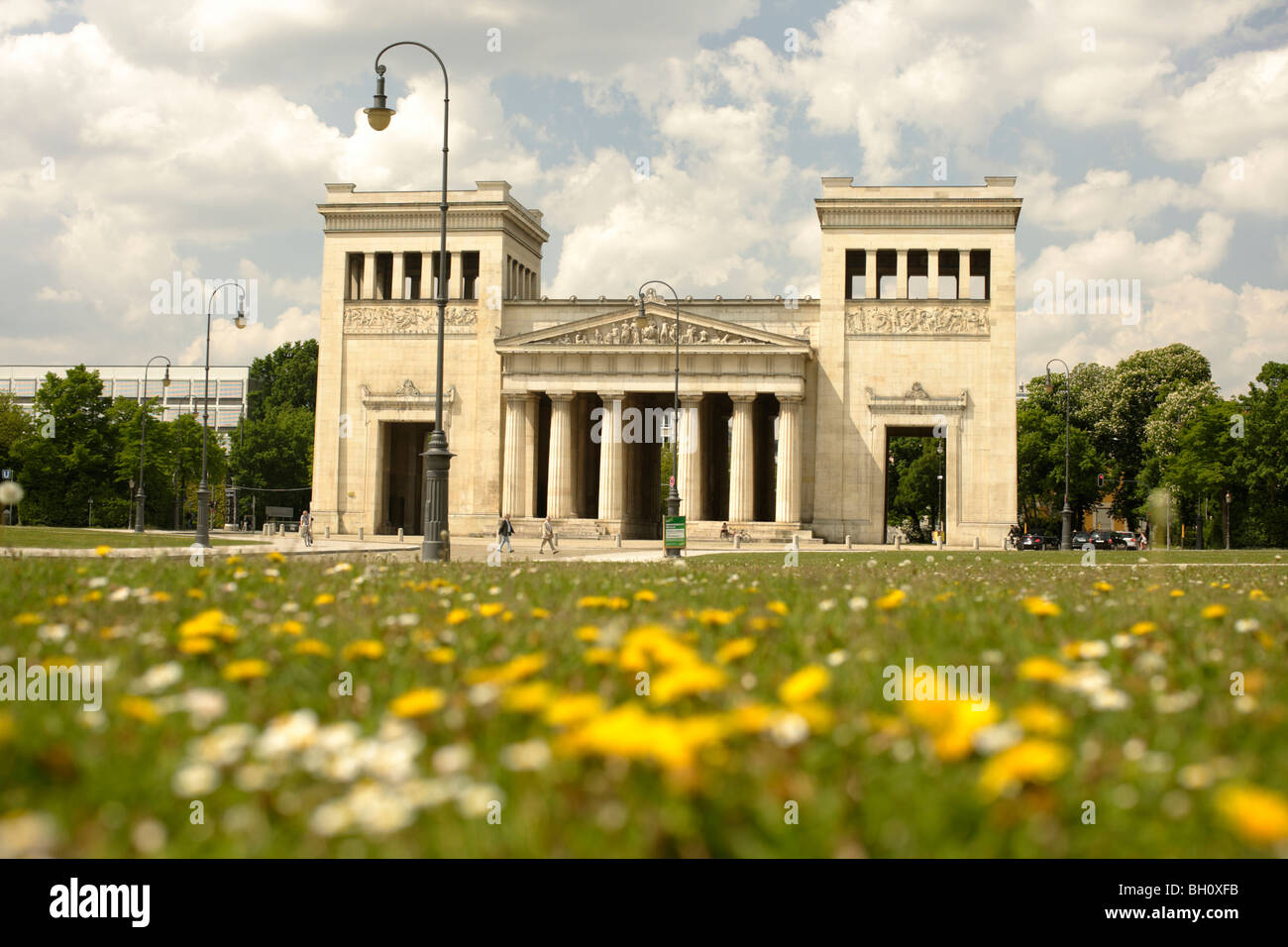 Propylaeen Munich Oberbayern Bavaria  Germany Europe - Stock Image