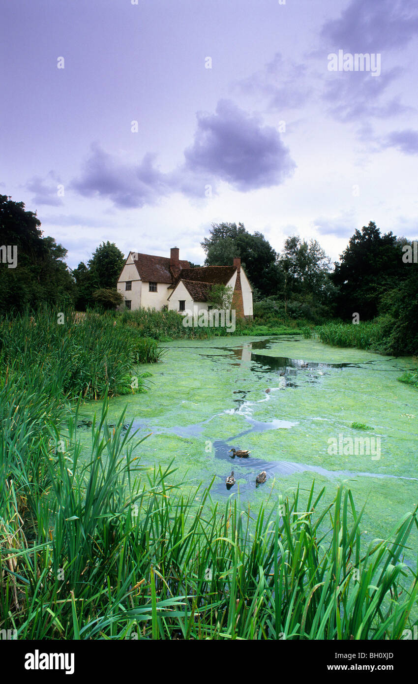 Europe, England, Essex, East Berholt, Willy Lott's Cottage - Stock Image