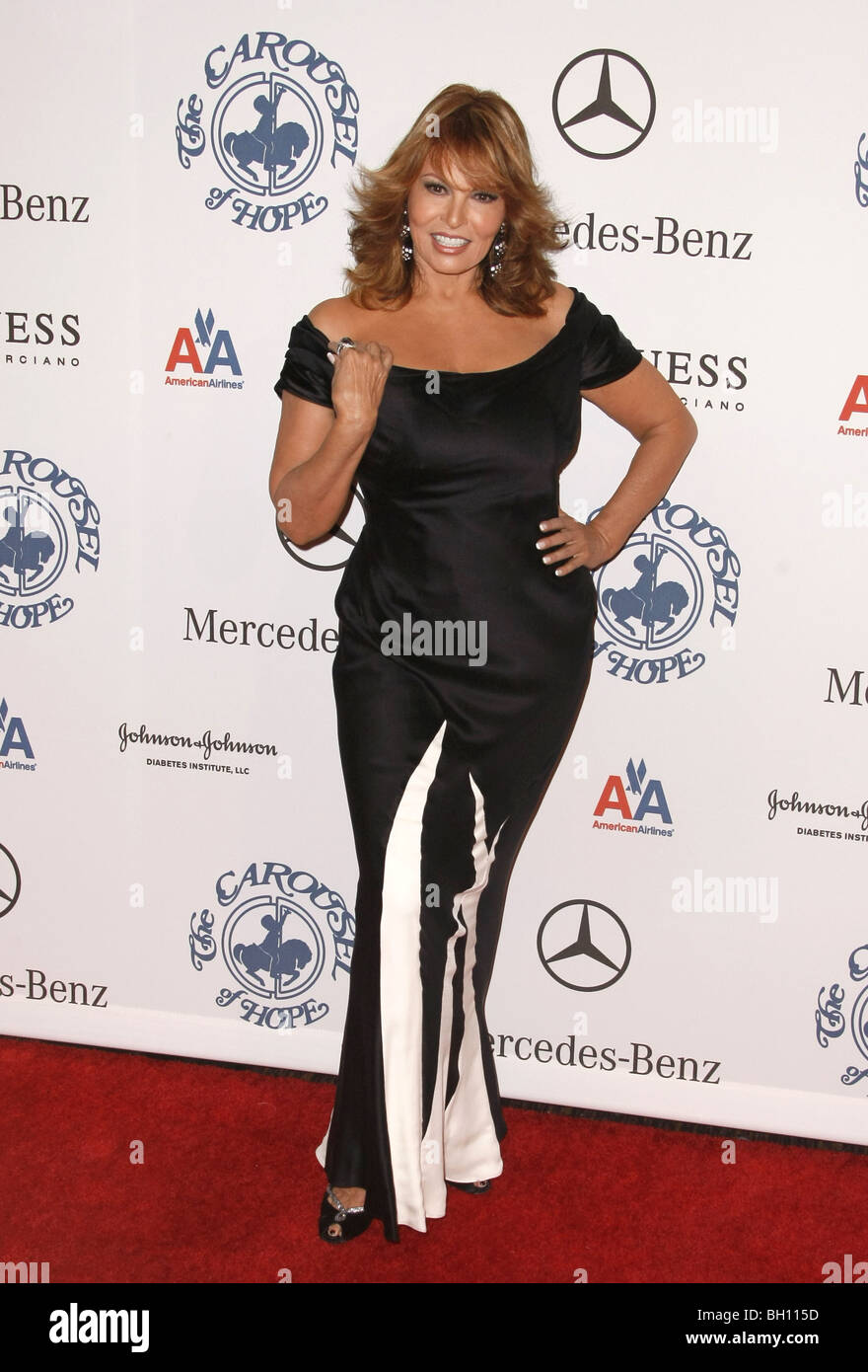 RAQUEL WELCH ACTRESS BEVERLY HILLS  CA  USA 25/10/2008 - Stock Image