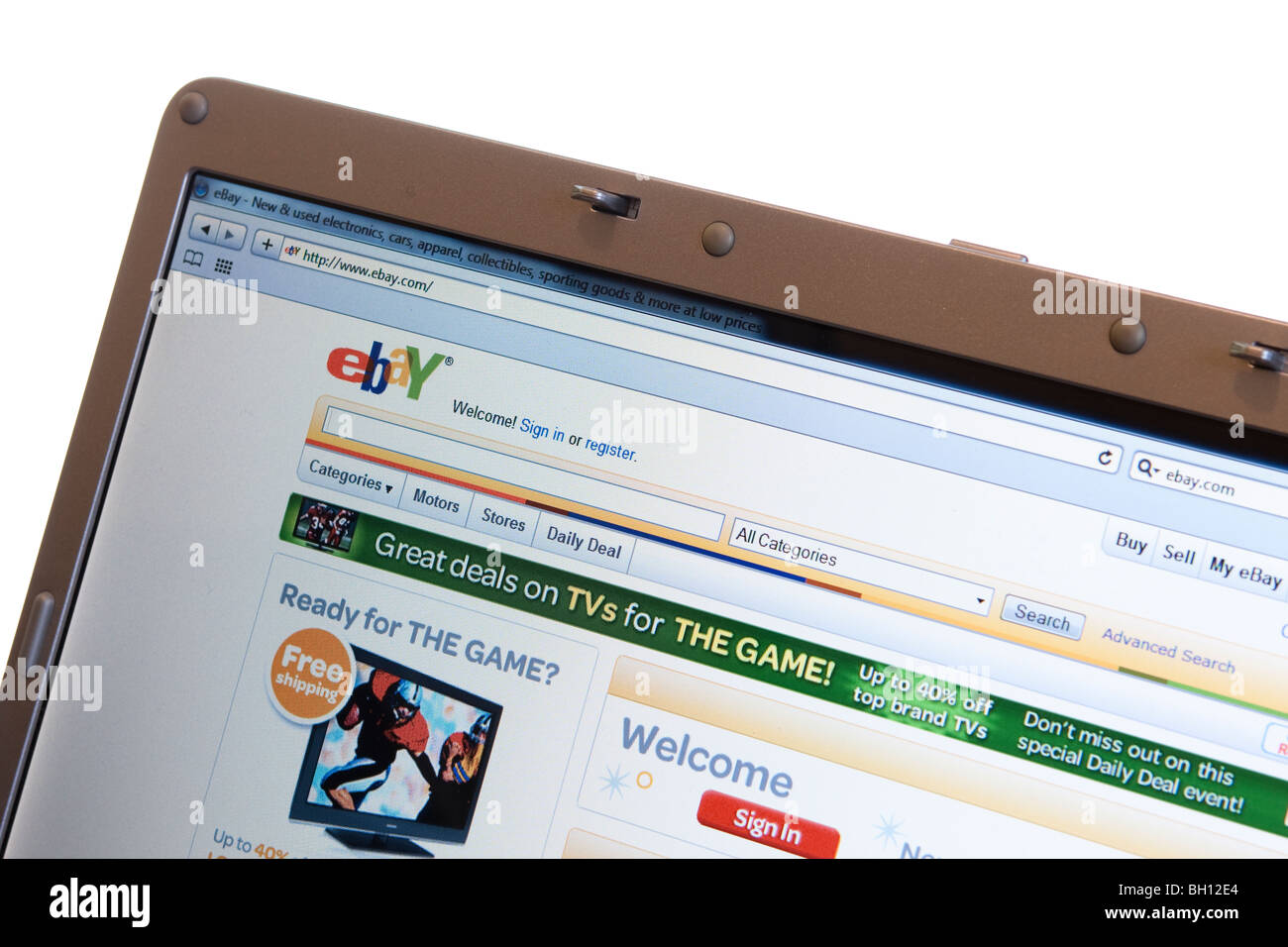 Ebay Buying Selling Online Website High Resolution Stock Photography And Images Alamy