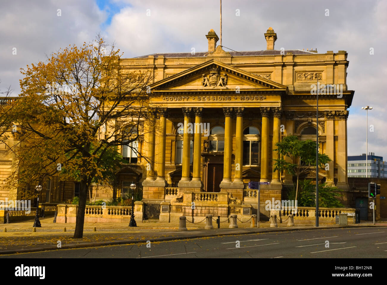 County sessions house central Liverpool England UK Europe - Stock Image