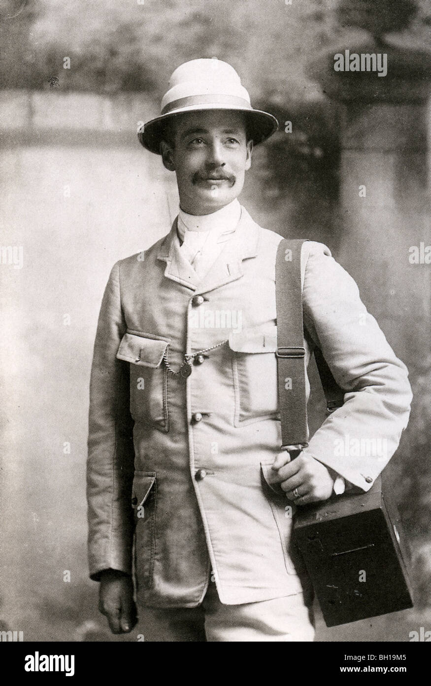 HORACE NICHOLLS - English photographer (1867-1941) who covered the Boer War as well as the English social scene - Stock Image