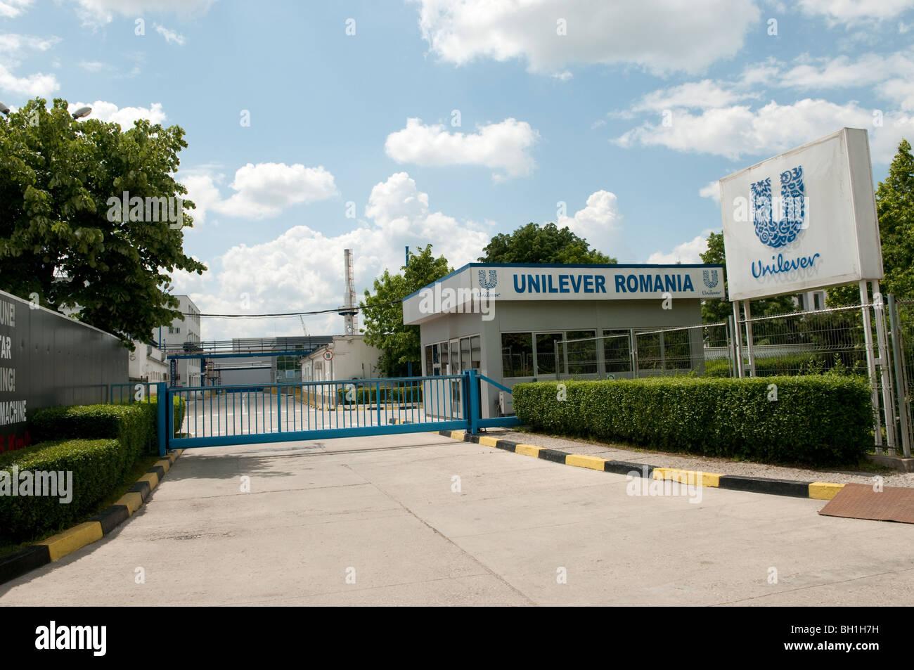 Unilever factory Ploiesti Romania Eastern Europe Stock Photo