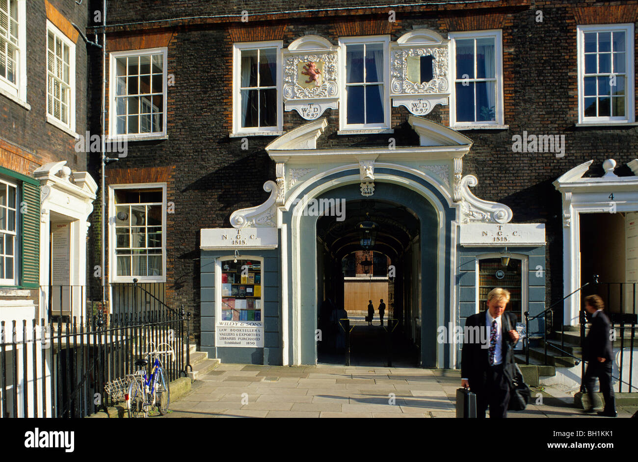 Europe, Great Britain, England, London, Inns of Court - Stock Image