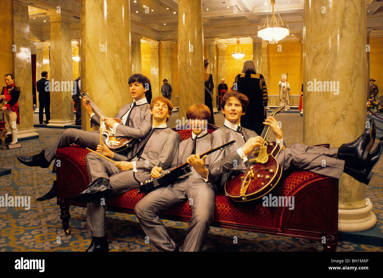 Europe, Great Britain, England, London, Madame Tussauds, The Beatles - Stock Image