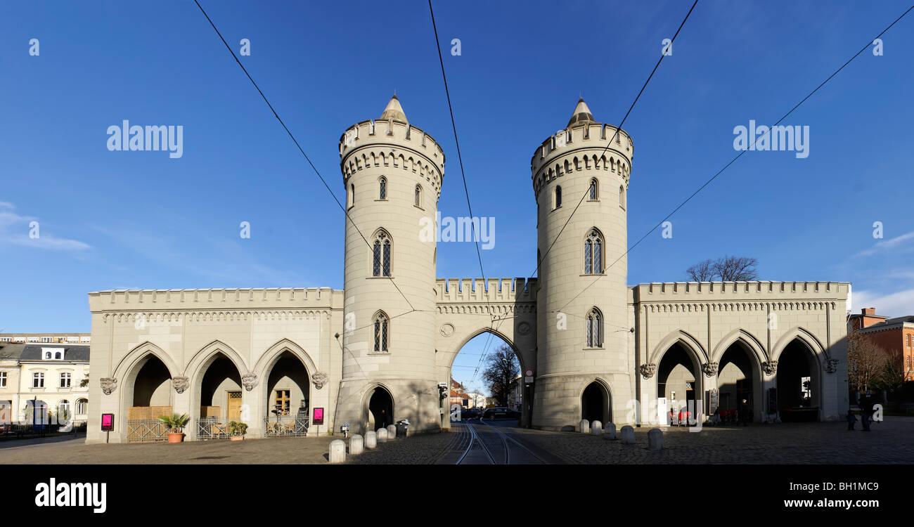 Nauen Gate, Potsdam, Land Brandenburg, Germany - Stock Image
