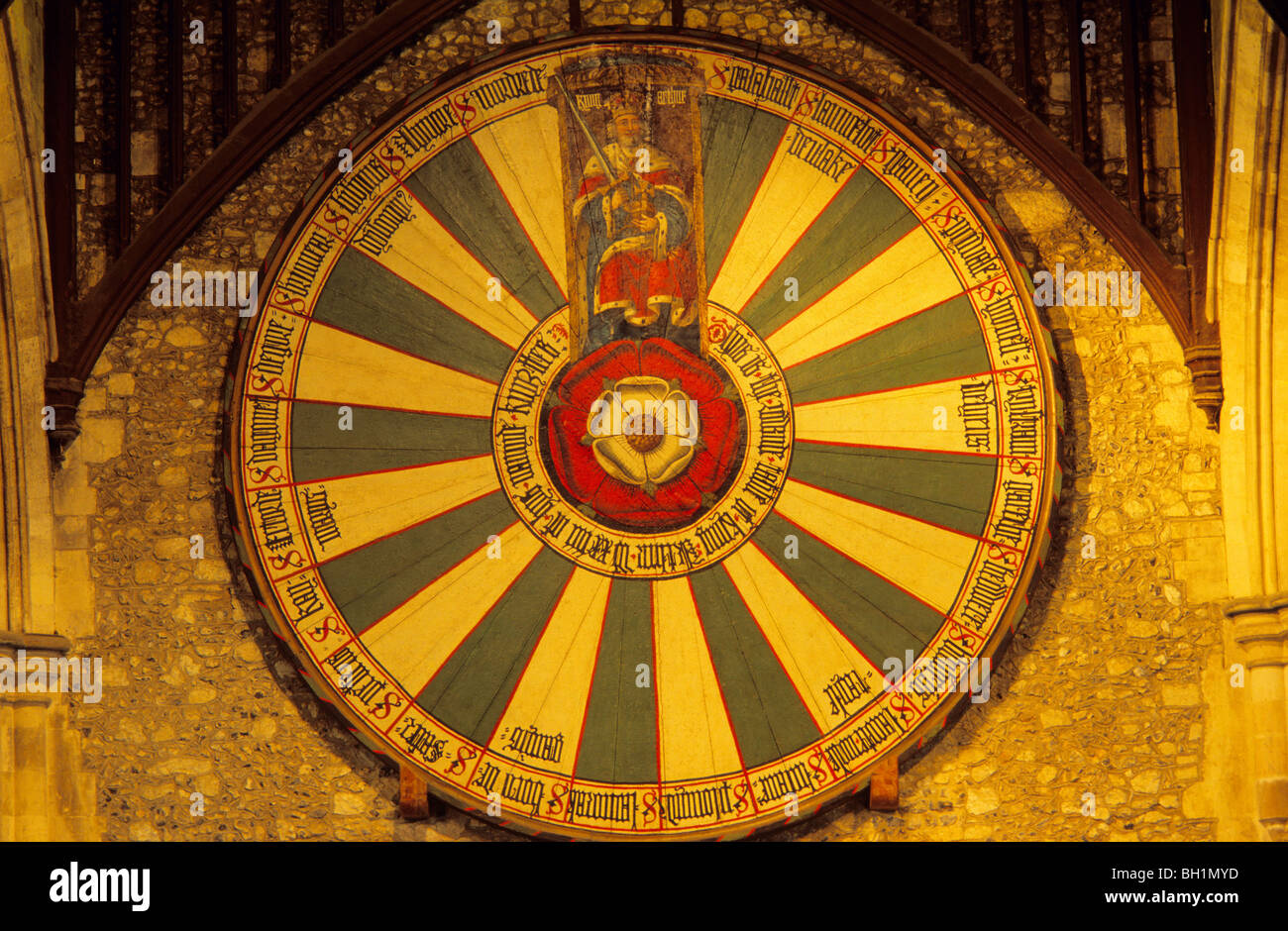 King arthur stock photos king arthur stock images alamy - Round table winchester cathedral ...