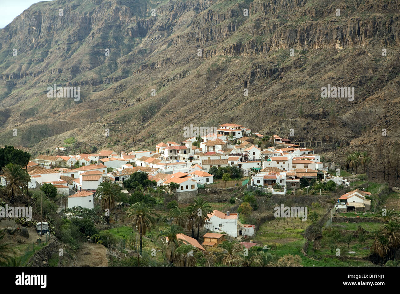 Europe, Spain, Canary Islands, Grand Carary, country, hinterland, mountain, - Stock Image