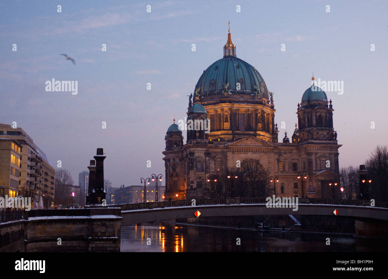 Berlin Cathedral Berliner Dom - Stock Image
