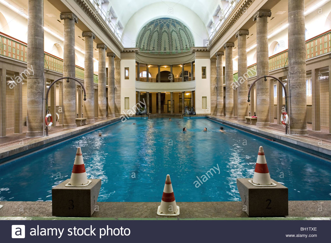 stadtbad neukoelln opened in 1914 roman style baths berlin stock photo 27701030 alamy. Black Bedroom Furniture Sets. Home Design Ideas