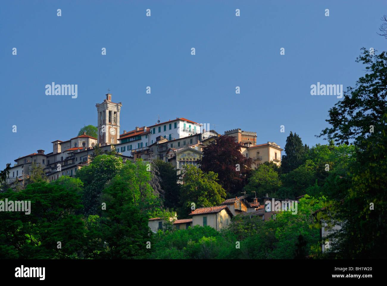 pilgrimage village Santa Maria del Monte, Santa Maria del Monte, Sacromonte di Varese, World Heritage Site, Lombardy, Stock Photo