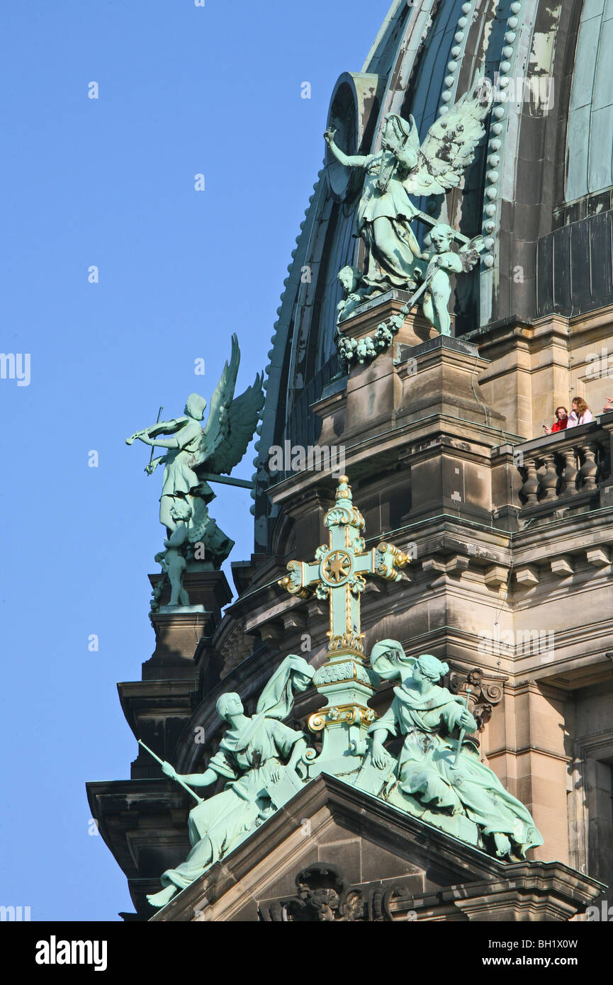 Berliner Dom, largest Protestant church in Germany, Berlin - Stock Image