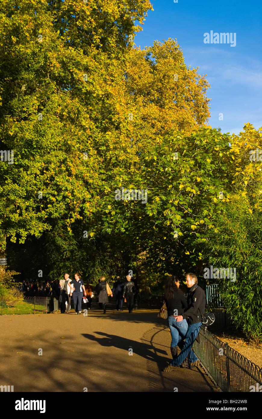 St James's Park London England UK Europe - Stock Image