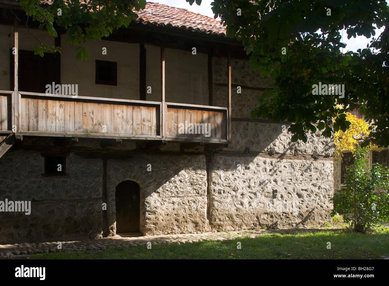 Bulgaria,Bansko,Museum-House of Neofit Rilski Stock Photo