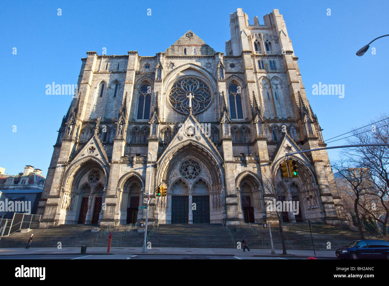St John the Divine, Manhattan, New York City - Stock Image