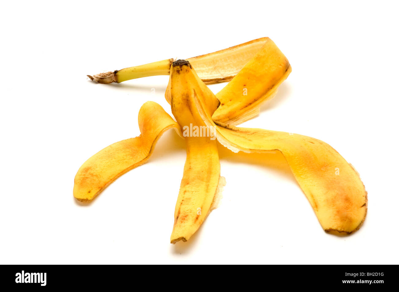 organic bananas - Stock Image