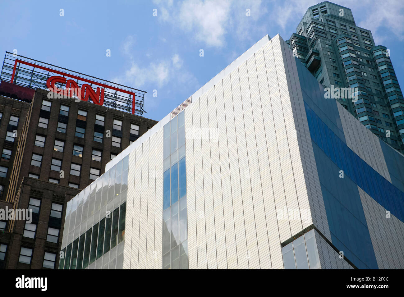 The Museum of Arts and Design (MAD), columbus circle in Manhattan in New York - Stock Image