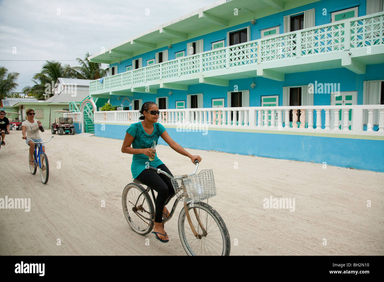 Caye Caulker, Northern Cayes, Belize. - Stock Image