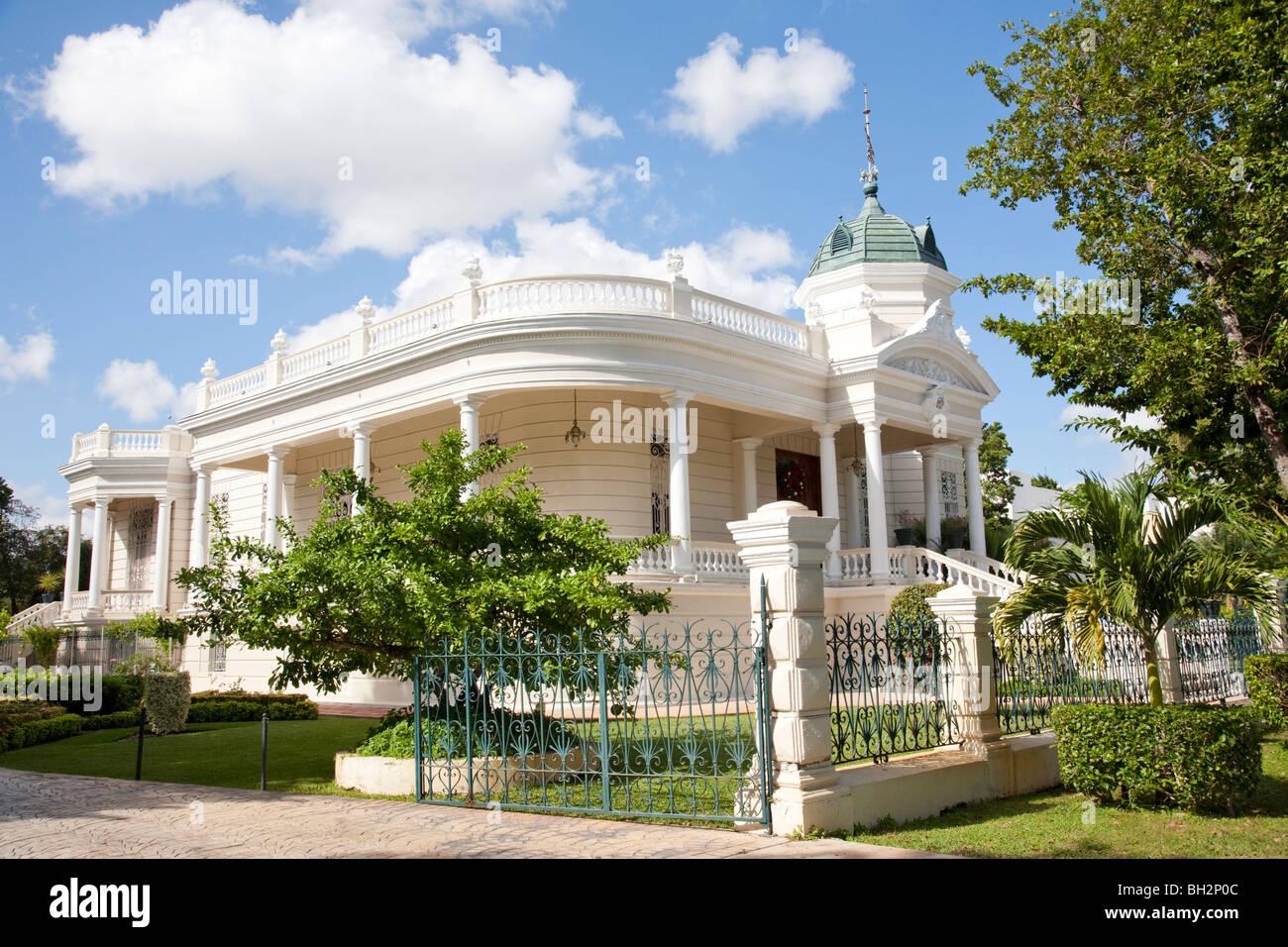 Casa Museo Quinta Montes Molina, Merida, Yucatan, Mexico. - Stock Image