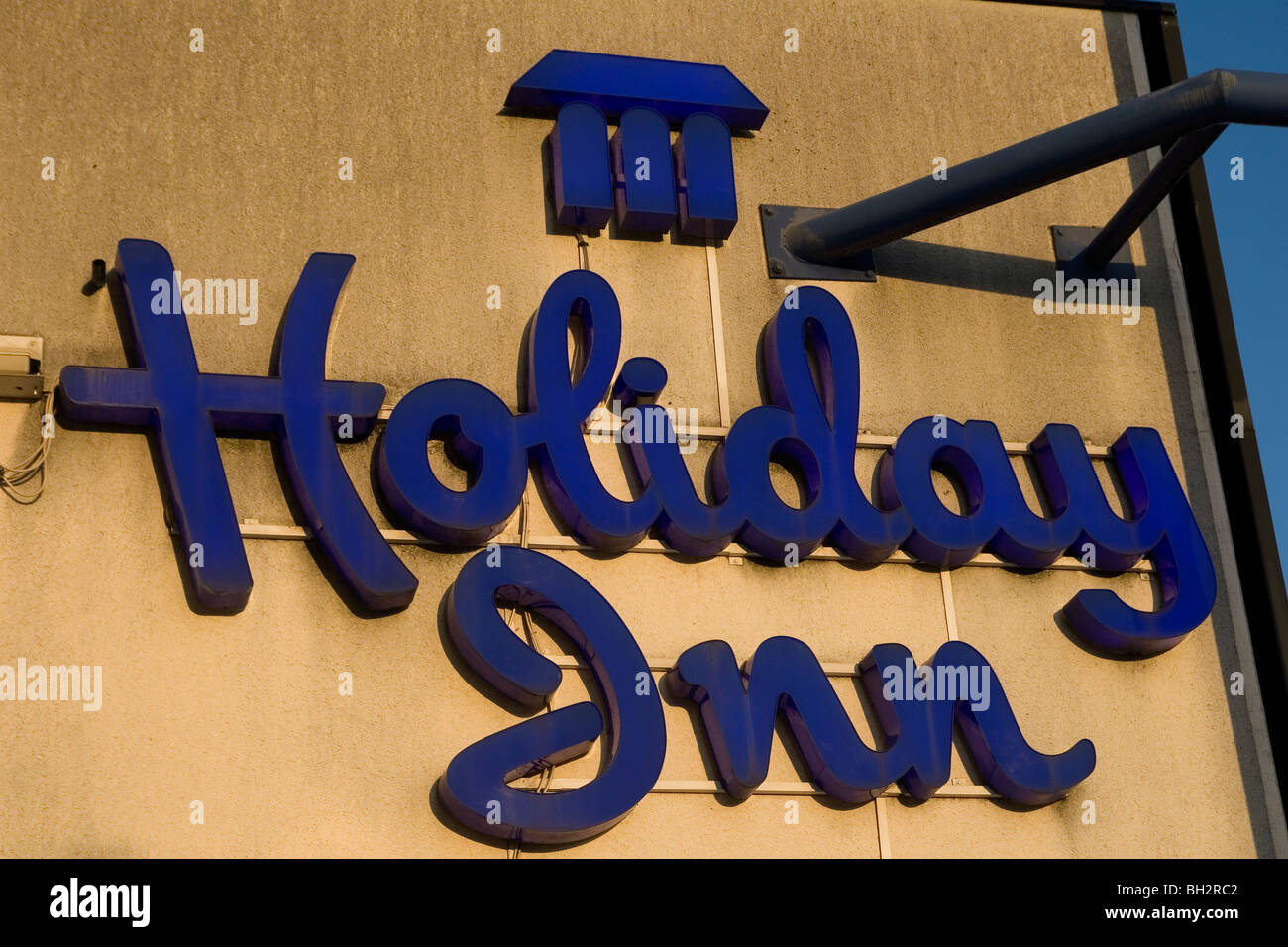 Holiday Inn sign - Stock Image