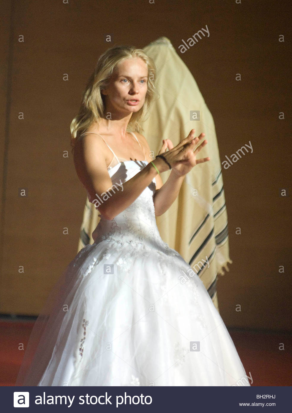 Dybbuk performed by TR Warsawa . - Stock Image