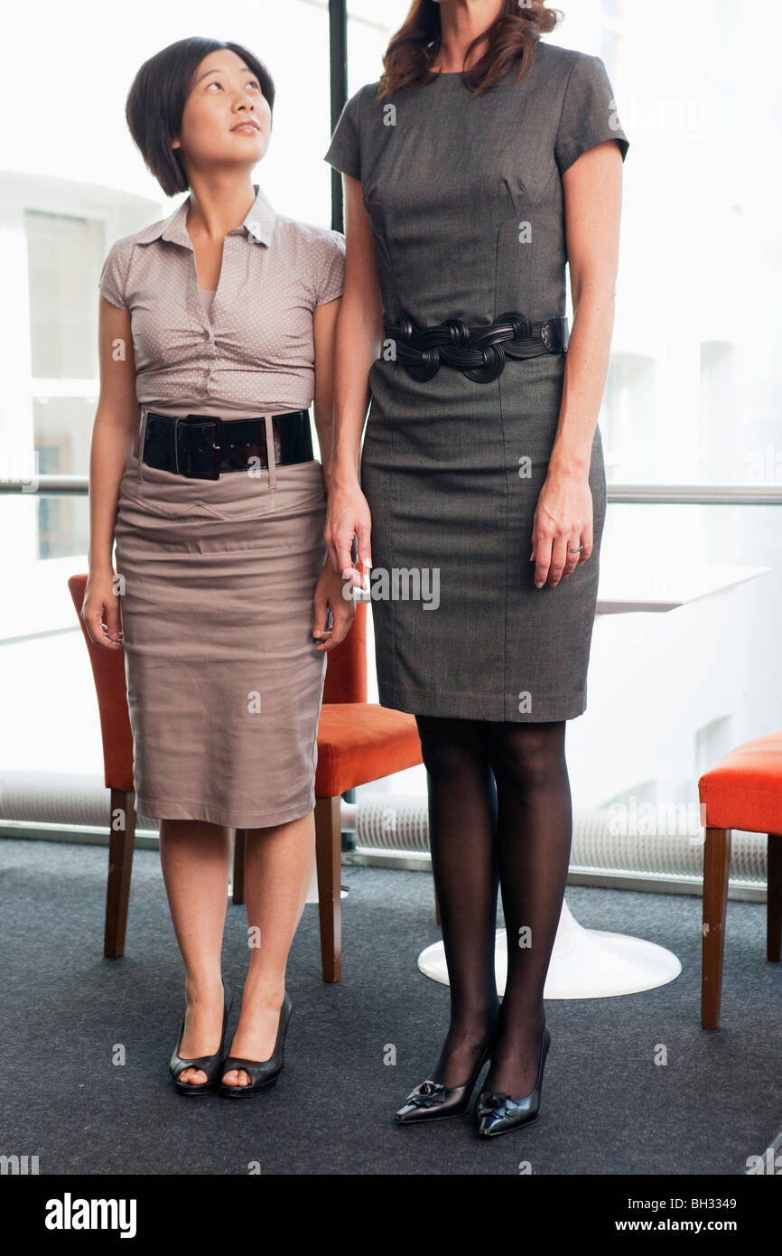 Tall Woman And Short Woman Stock Photos & Tall Woman And