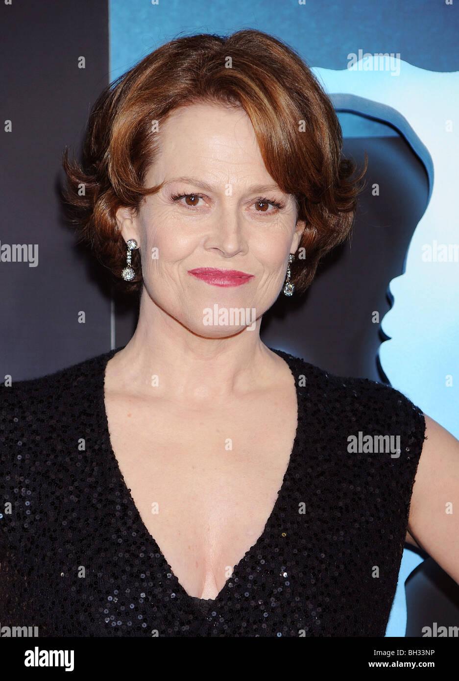 SIGOURNEY WEAVER - US film actress in December 2009 - Stock Image