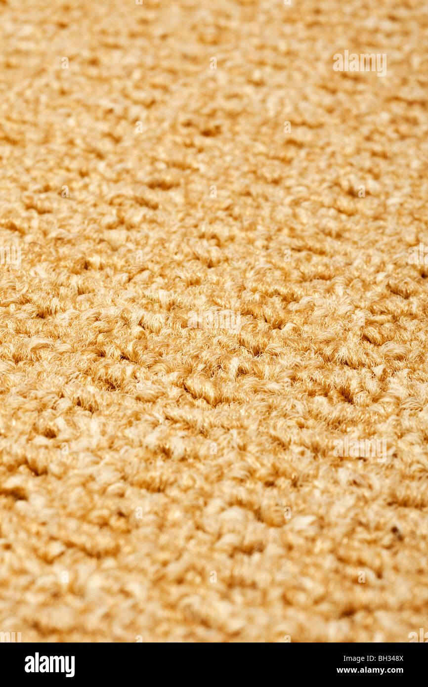 Carpet close up selective focus - Stock Image
