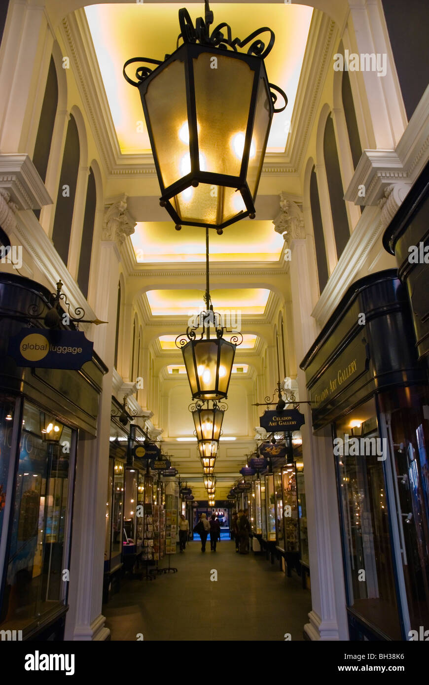 Princes Arcade Mayfair central London England UK - Stock Image