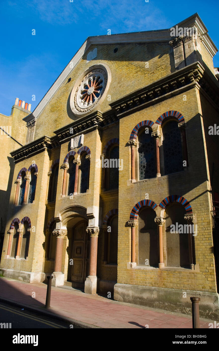 Brighton and Hove Hebrew Congregation Synagogue central Brighton England UK Europe - Stock Image