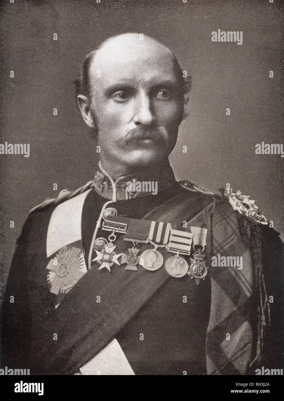 Field Marshal Sir George Stuart White, 1835 to 1912. British Army officer. - Stock Image