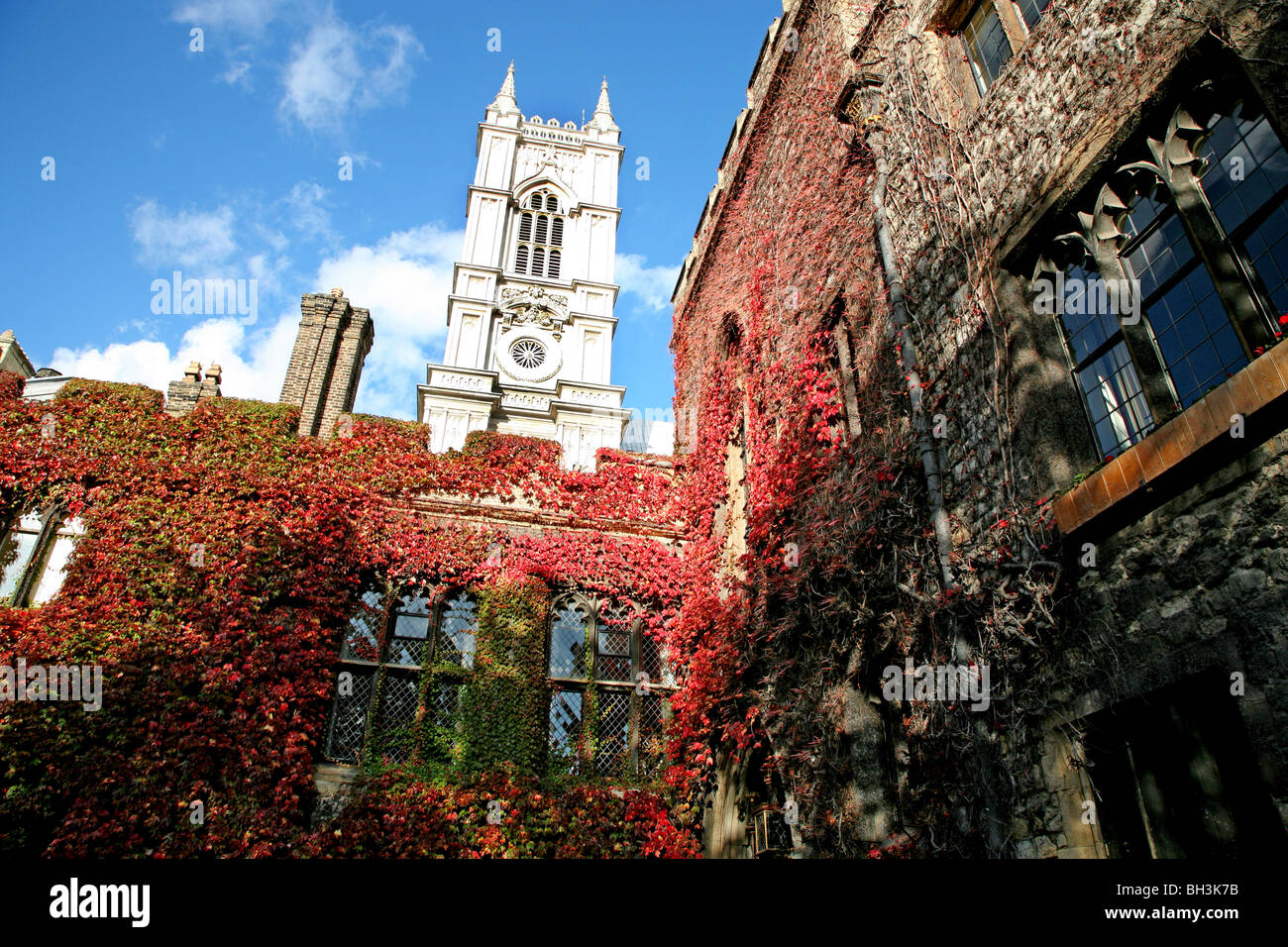 Dean's Yard, Westminster - Stock Image