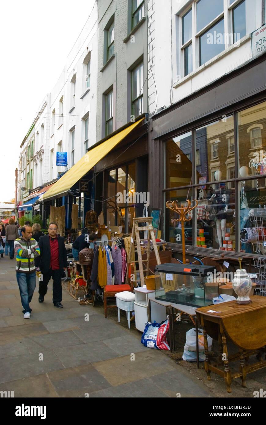 Portobello Market Shop Front Stock Photos Amp Portobello