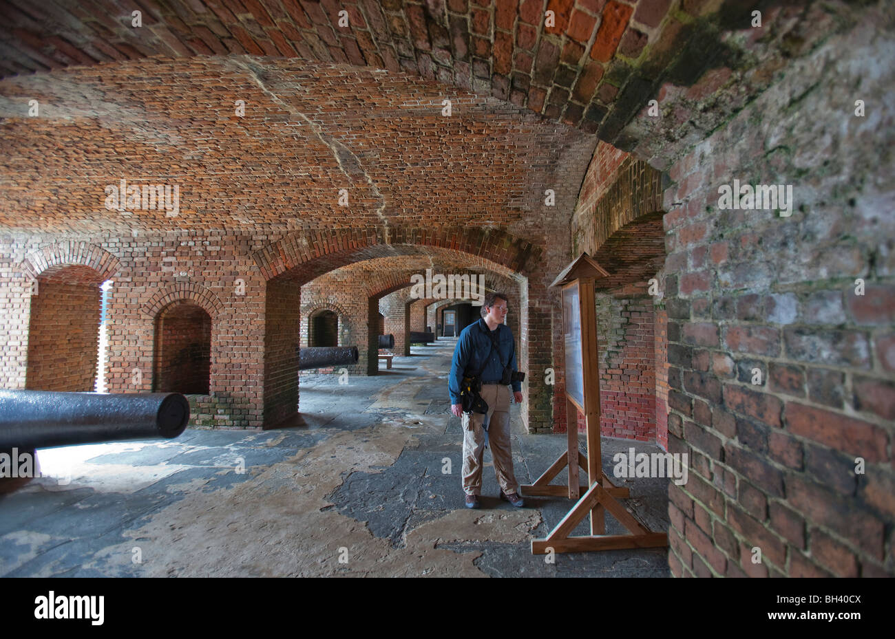 Fort Zachary Taylor State Historic Site Key West Florida FL - Stock Image