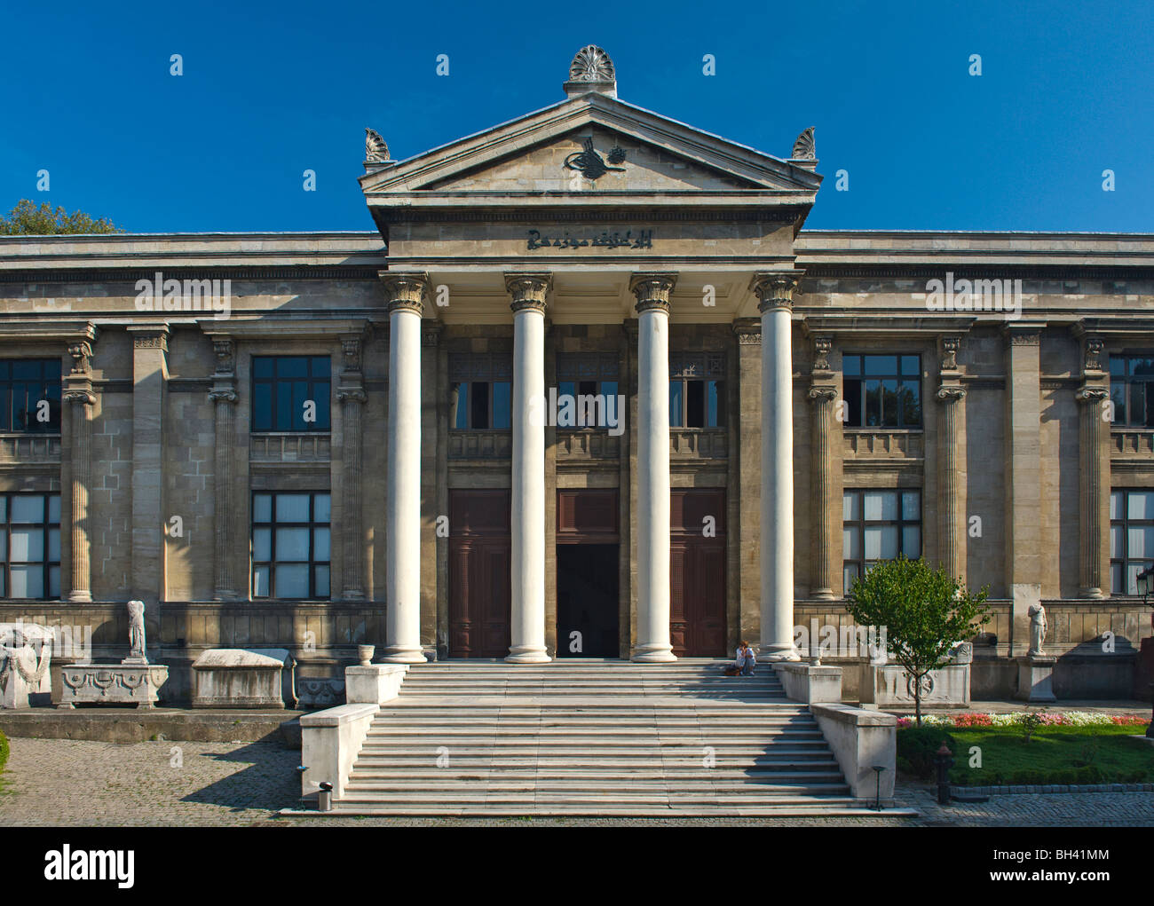 Istanbul Archaeology Museum, Turkey - Stock Image