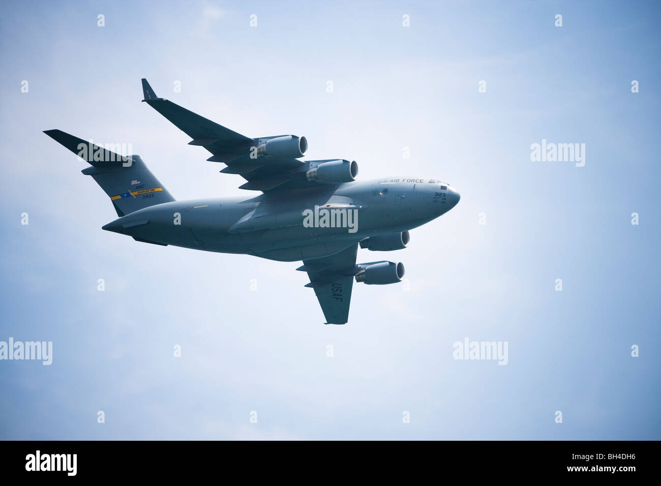 US Air Force plane - Stock Image