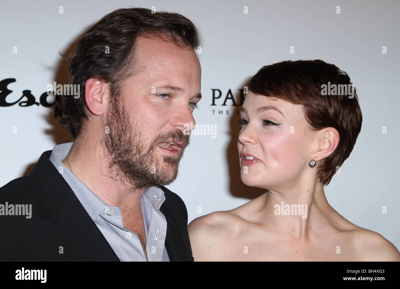 PETER SARSGAARD CAREY MULLIGAN AN EDUCATION LOS ANGELES PREMIERE HOLLYWOOD LOS ANGELES CA USA 01 October 2009 - Stock Image