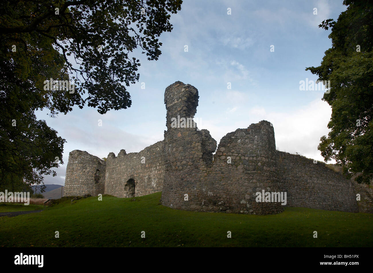 one of the most historic castles in the scottish highlands and built