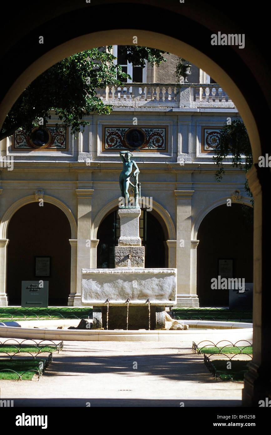 MUSEUM OF FINE ARTS, LYON, RHONE (69), FRANCE Stock Photo