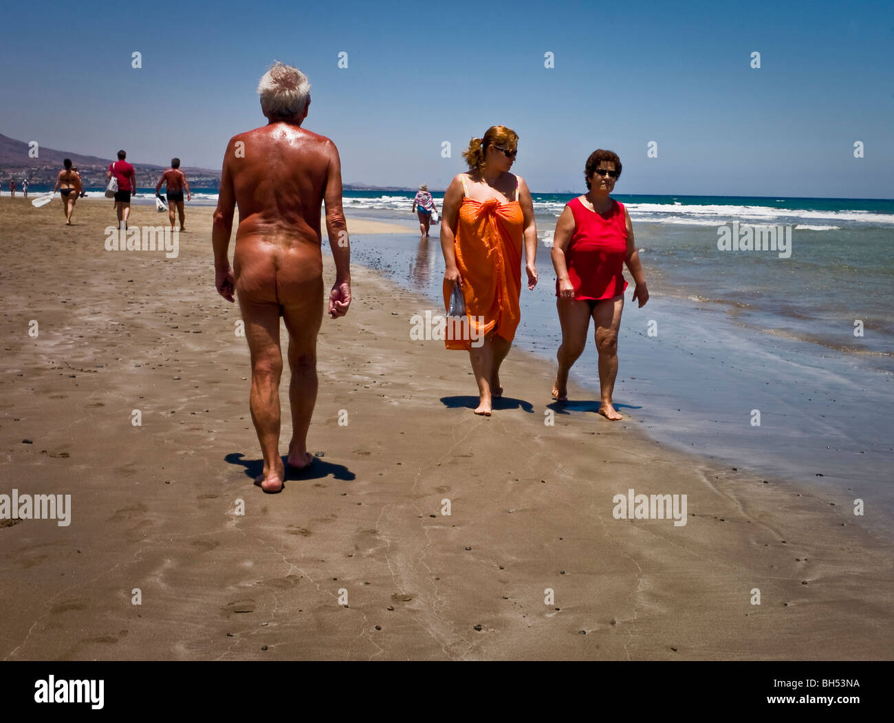 Nude Beach Walk