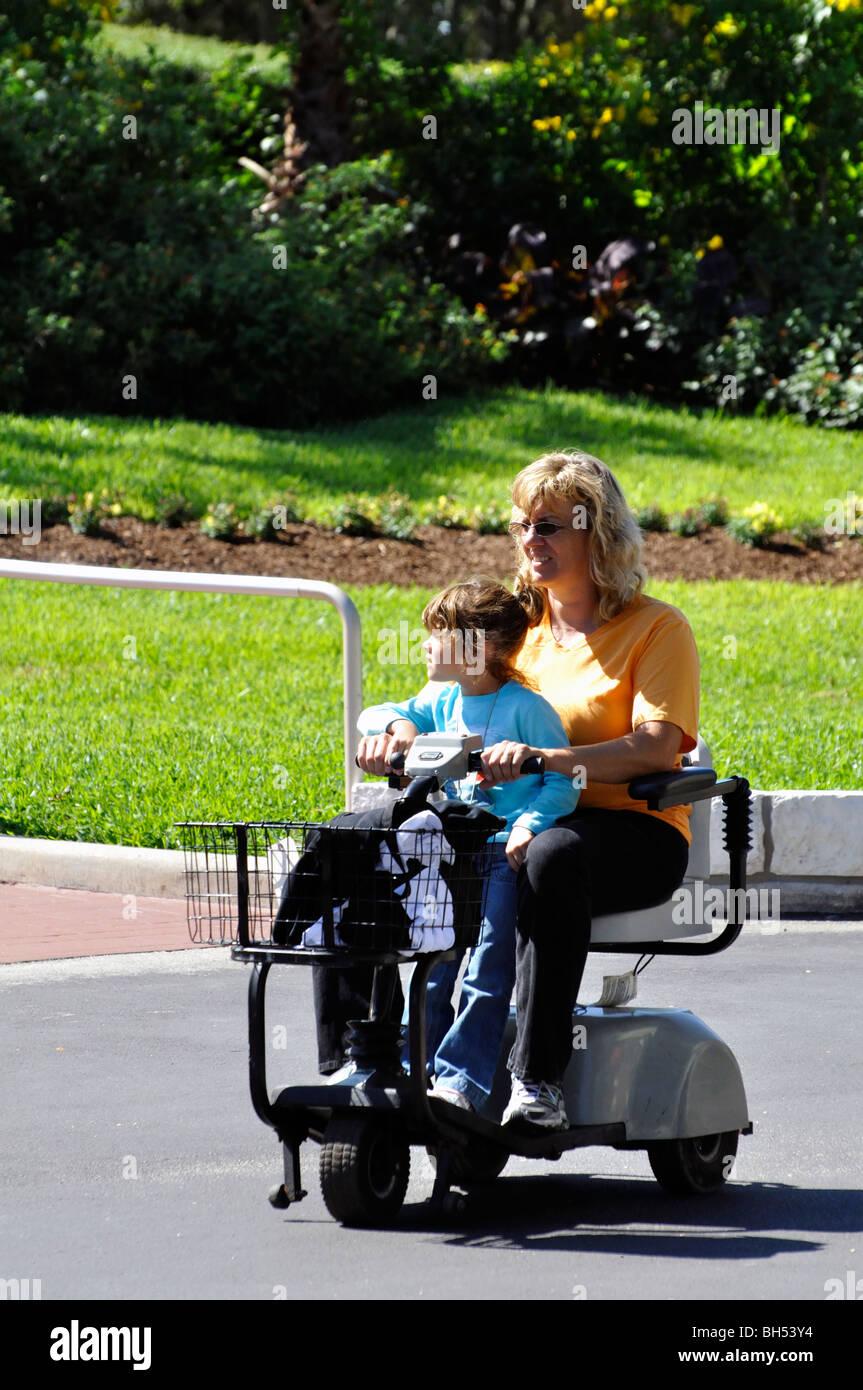 Handicap Electric Scooter Handicapped Stock Photos & Handicap ...