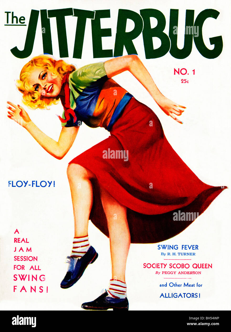 Jitterbug Cover Of The No Issue Of A New S Magazine For Jazz Bh Wp on 1940s Jitterbug Dance