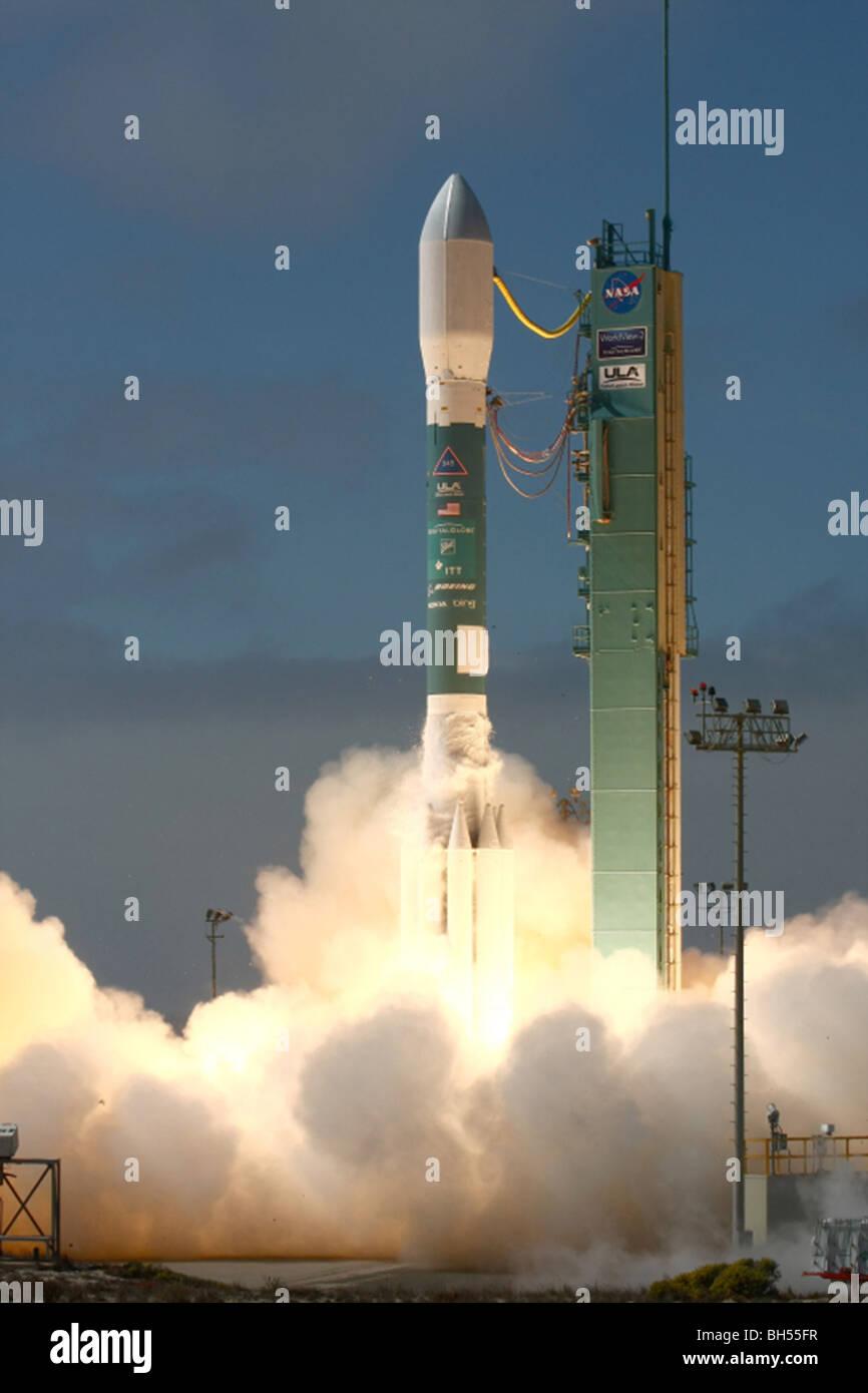 Rocket launch NASA - Stock Image