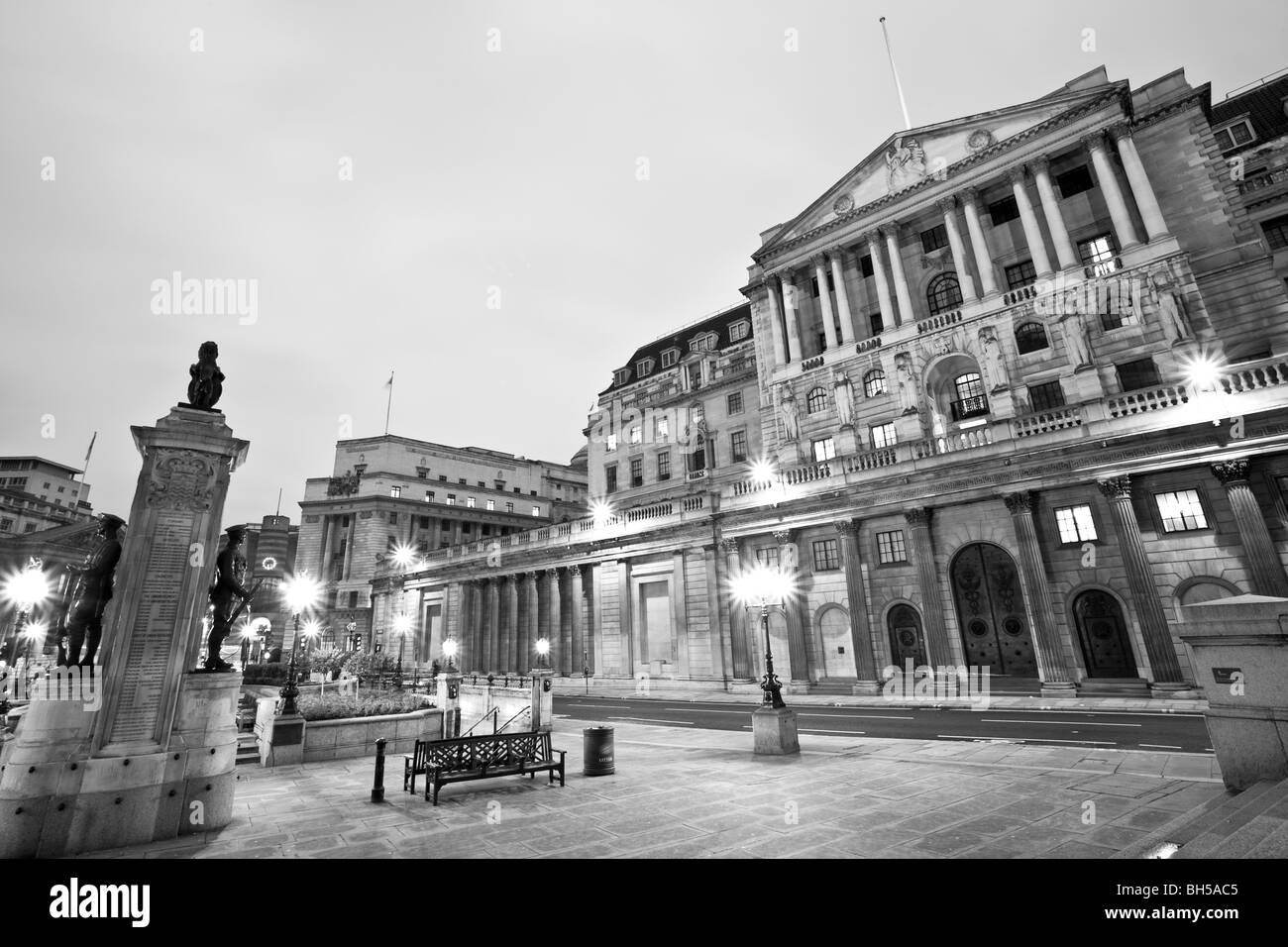 Bank Of England, London - Stock Image