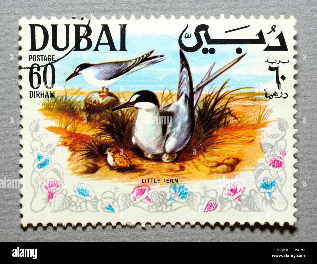 Dubai Postage Stamp. - Stock Image